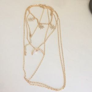 Jewelry - Crescent moon body jewelry